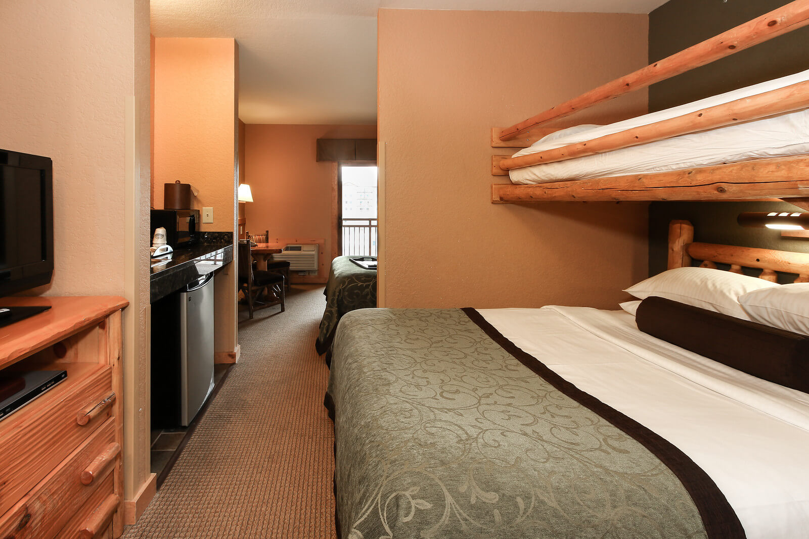 One Bedroom Deluxe Suite Wilderness At The Smokies