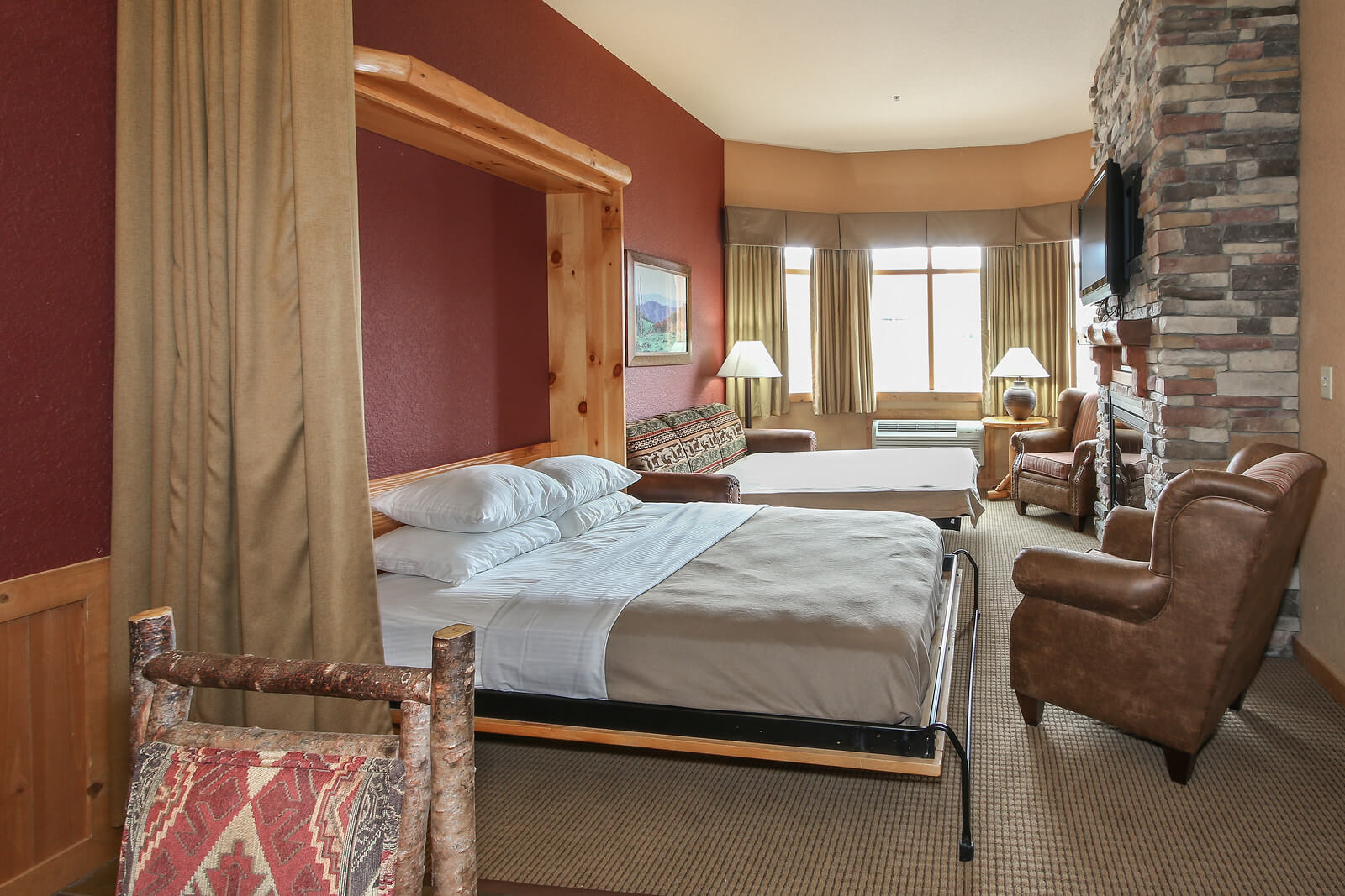Queen Murphy Deluxe Suite Wilderness At The Smokies
