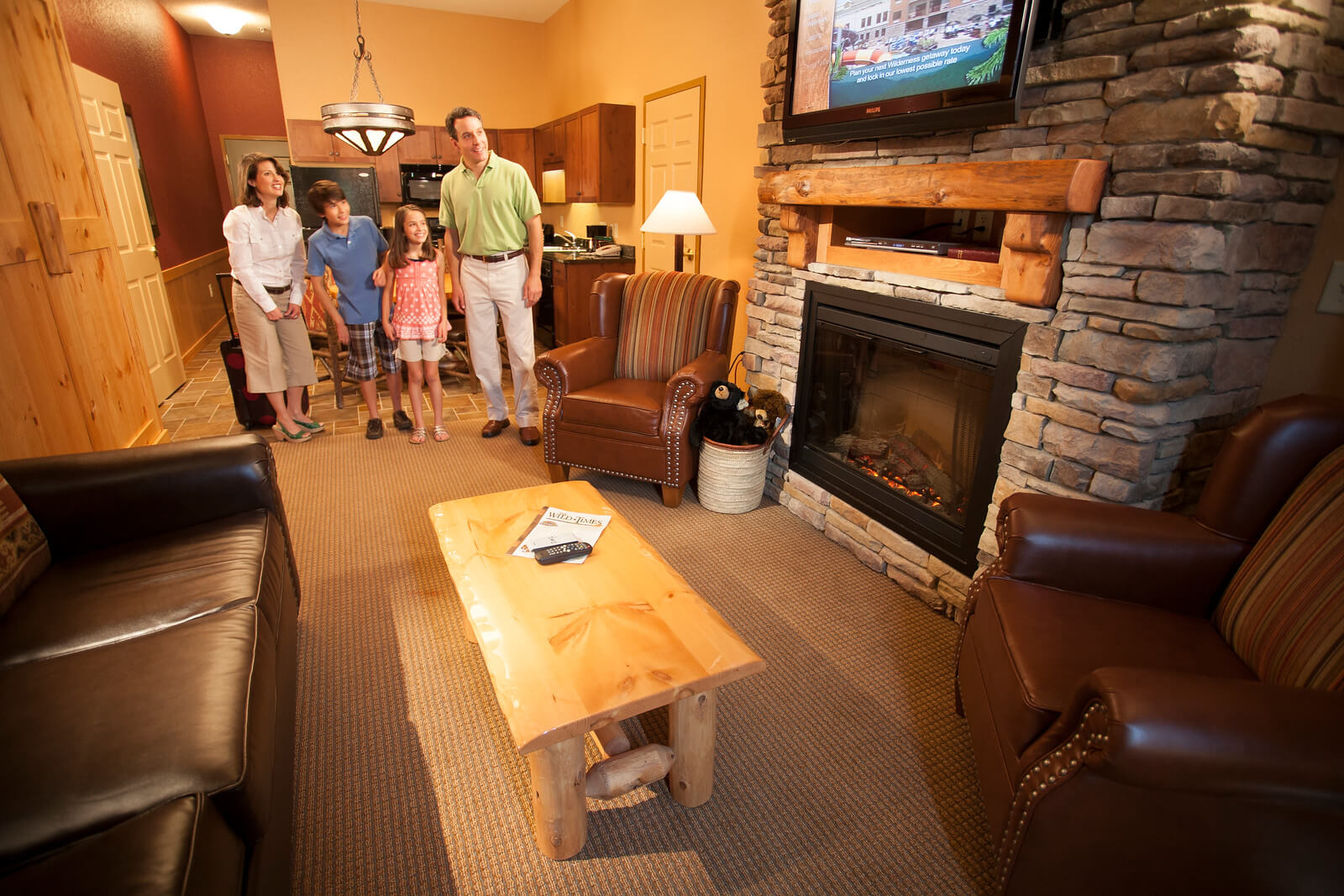 Deluxe Family Suite Wilderness At The Smokies