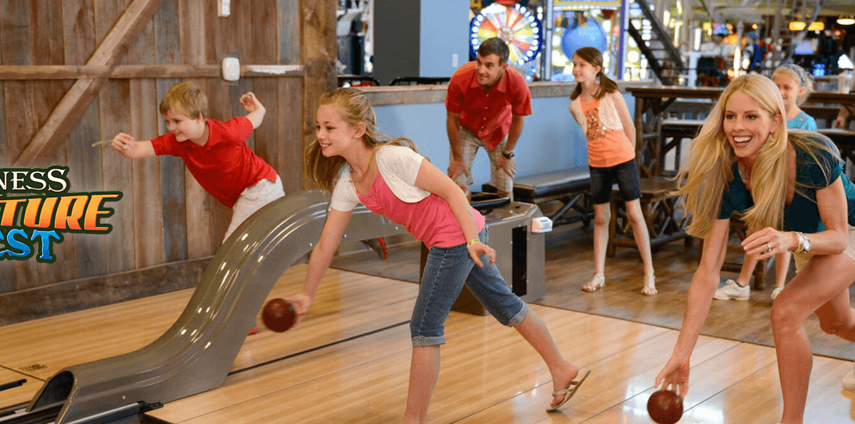 adventure forest bowling
