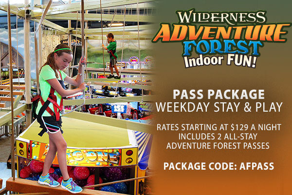 Weekday Stay & Play rates starting at $129 a night