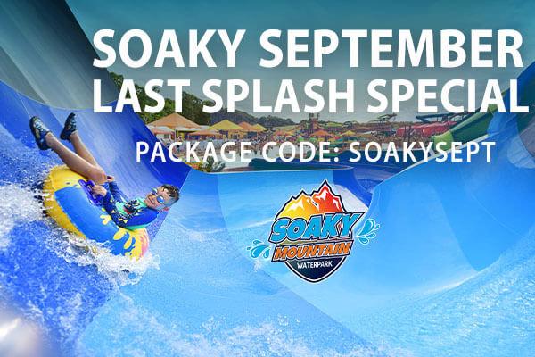 Soaky September Last Splash Special