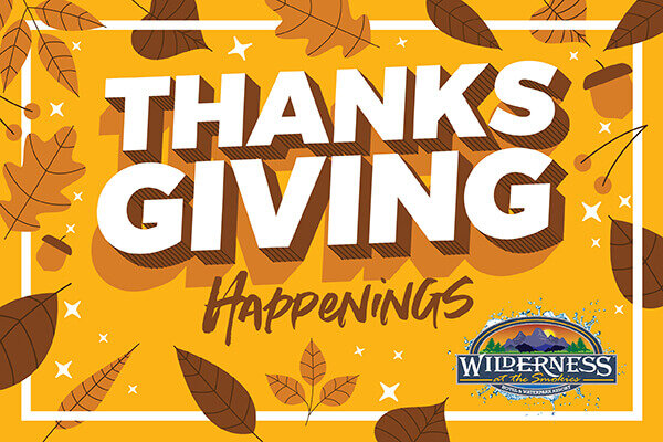 Thanksgiving at the Wilderness